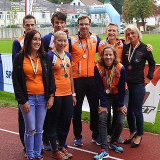 Unsere glücklichen Medaillengewinner der Landesmeisterschaft im 10KM Straßenlauf 2108