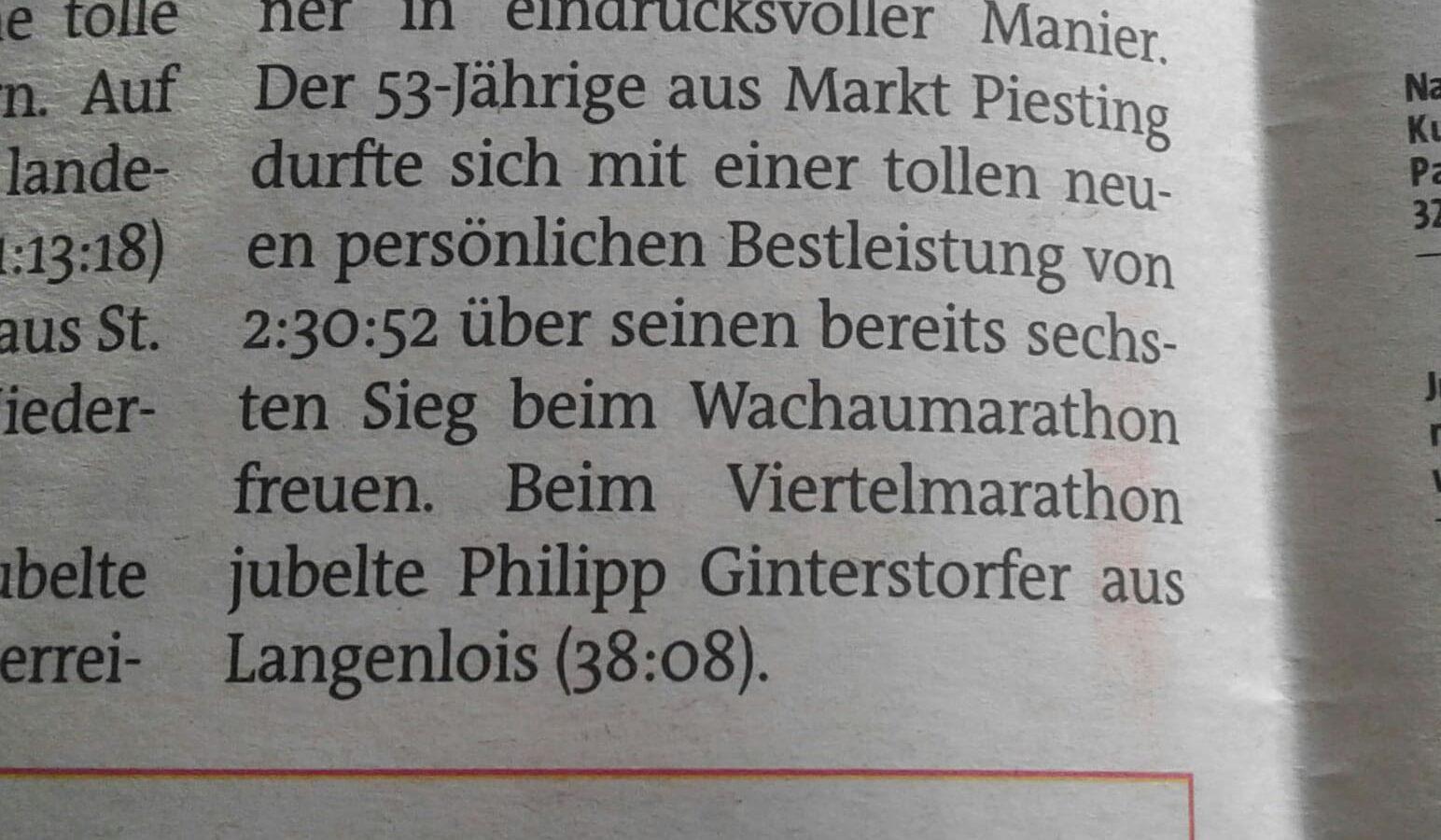 Bezirksblätter WachauVM 2018