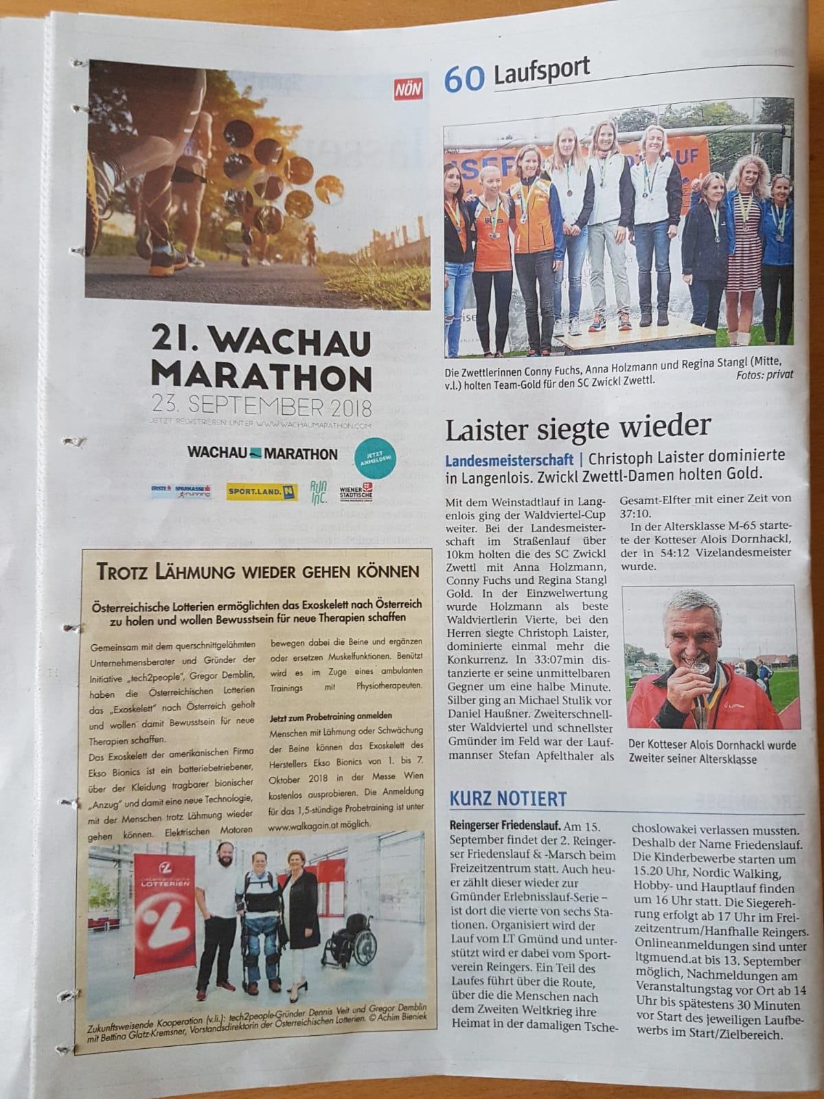 Weinstadtlauf 2018 NÖN Zwe