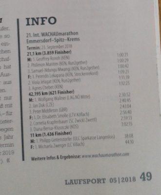 Laufsport-Magazin Dez.2018