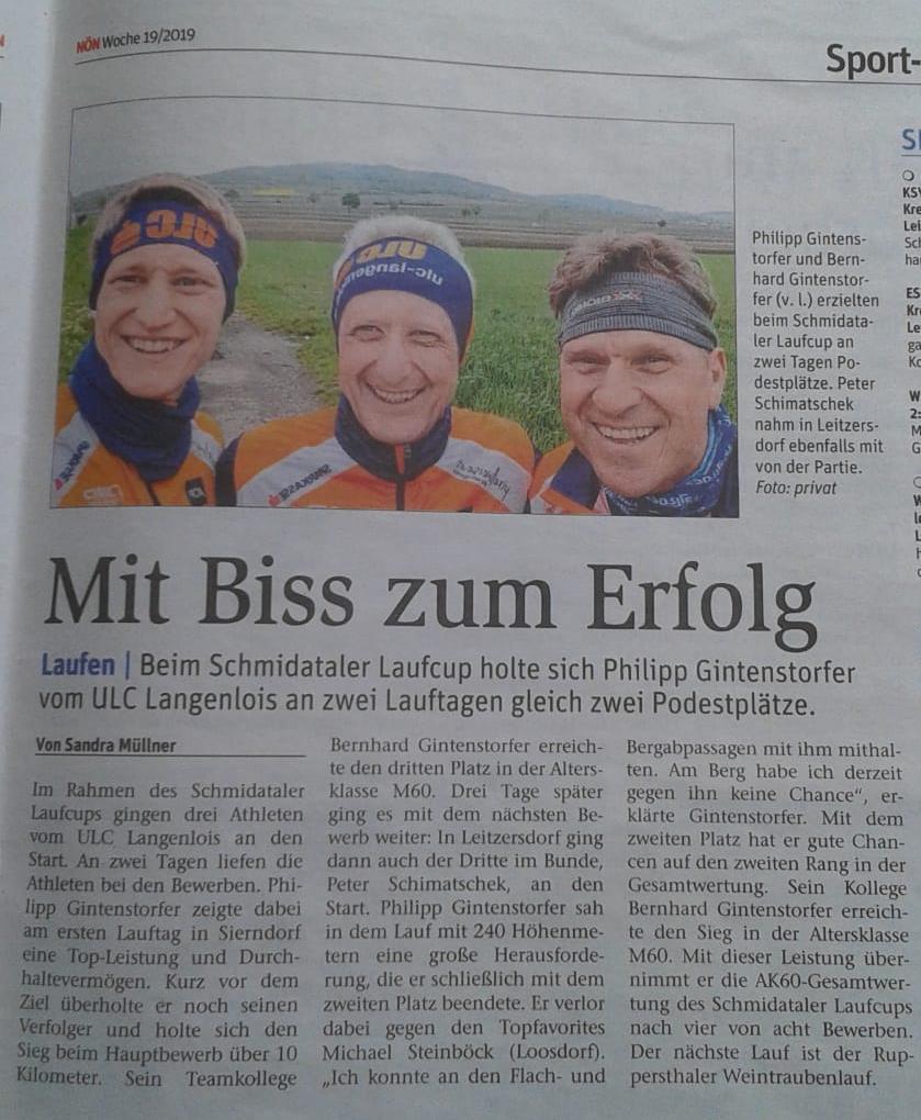 1.Mailauf Sierndorf + Waschberg-Crosslauf Leitzersdorf - NÖN